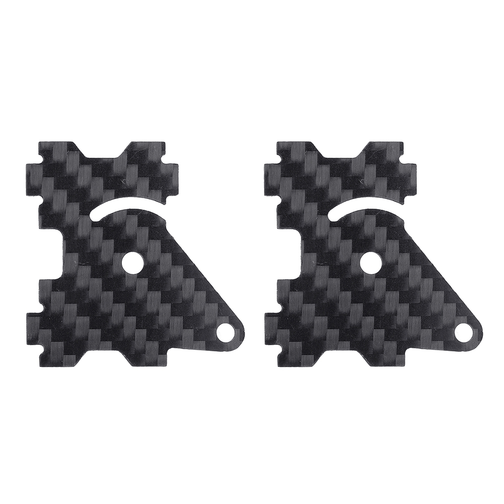 Eachine Wizard X220HV FPV Racing Frame Spare Part Camera Side Plate 1.5mm Carbon Fiber 2 PCS