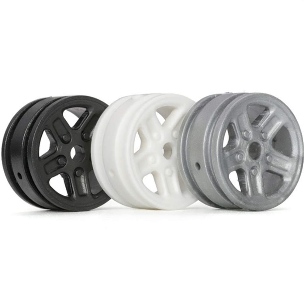 4PCS Orlandoo-Hunter 15mm Diameter Universal Wheel Rims 8 OHPCG32181 for 1/32 1/35 Rc Car Parts