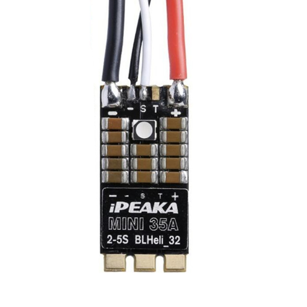 iFlight iPeaka Mini 35A BLheli_32 32Bit 2-5S Dshot1200 Brushless ESC w/ RGB LED Support Telemetry for RC Drone