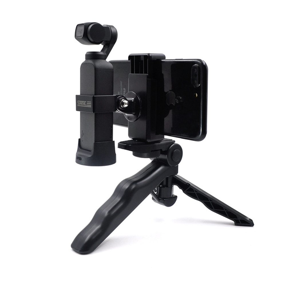 STARTRC Metal Phone Clip Holder With Tripod For DJI OSMO Pocket Handheld FPV Camera
