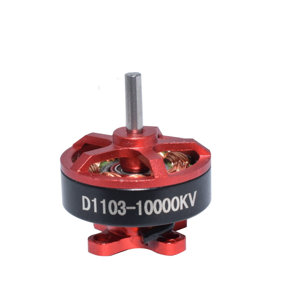 4 PCS Aurora RC D1103 1103 10000KV 1-3S Brushless Motor for RC Whoop FPV Racing Drone