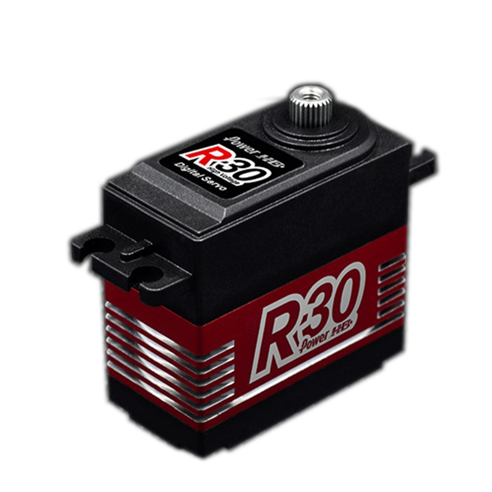 Power HD R30 Digital Servo Coreless 30KG Large Torque 90° 180° 270° 360° Rotation For RC Robot RC Robot Arm