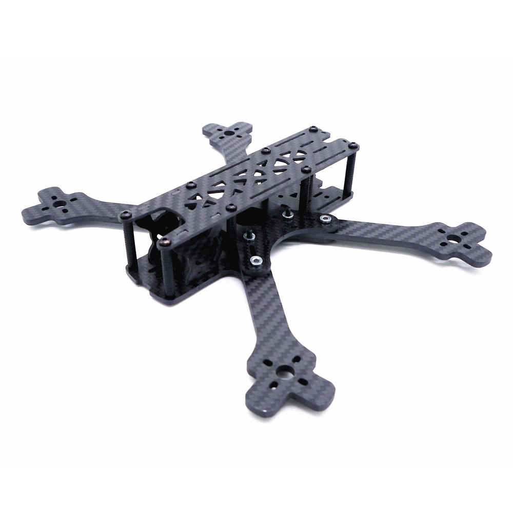 Kosoku 5 225mm Wheelbase 4mm Arm Carbon Fiber 5 Inch Frame Kit for RC Drone FPV Racing