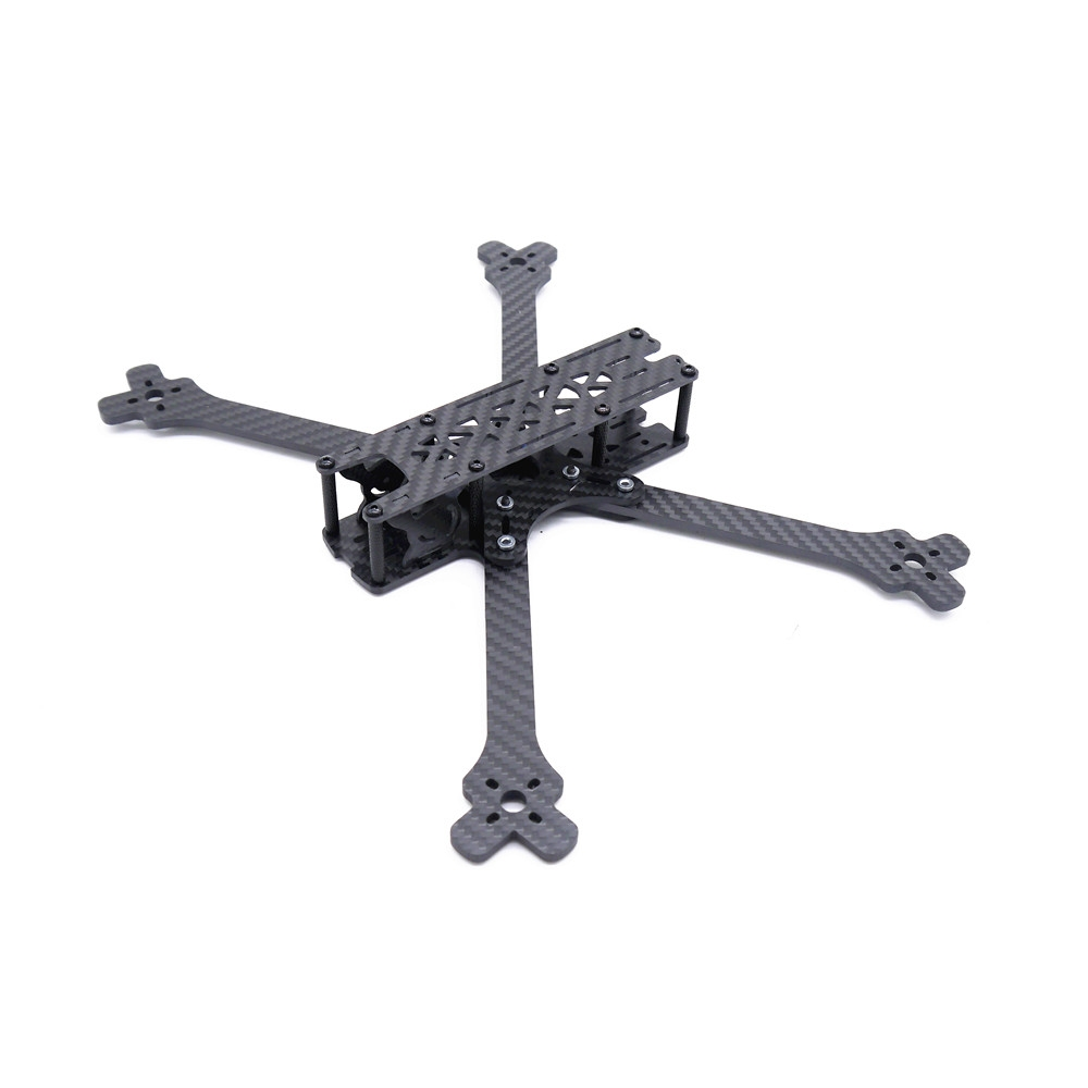 Kosoku 7 300mm Wheelbase 4mm Arm Thickness Carbon Fiber 7 Inch Frame Kit for RC Drone FPV Racing