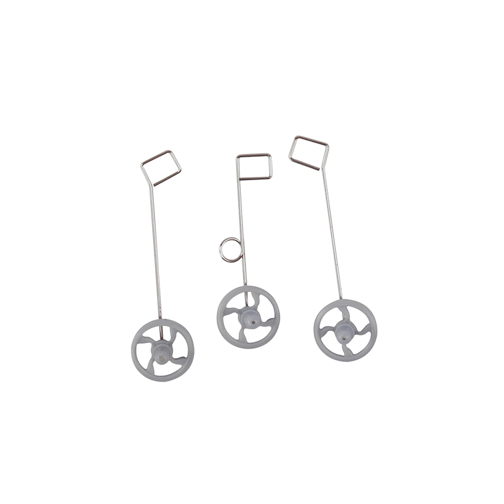 QF008-Boeing 787 550mm RC Airplane Spare Part Landing Gear 3pcs