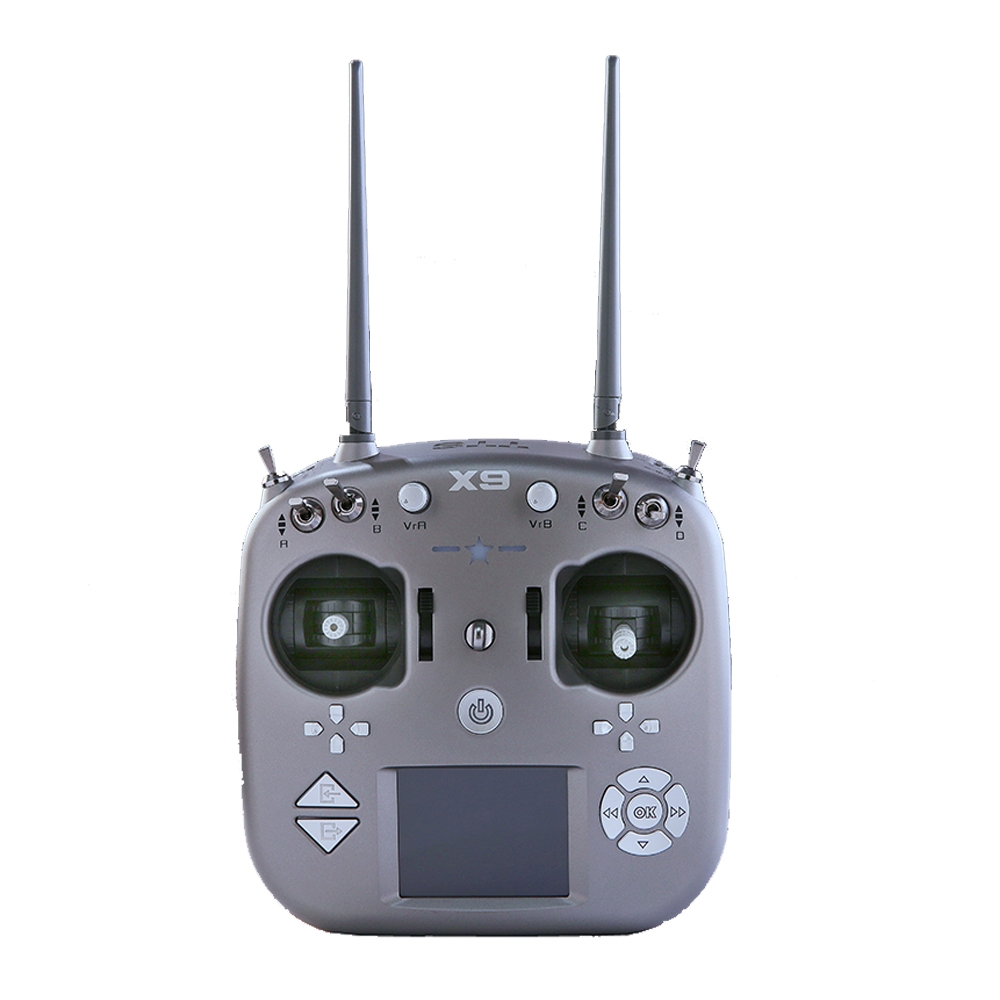 TTSRC X9 2.4GHz 9CH One-touch Switching Mode1/Mode2 Radio Transmitter & X9D Receiver for RC Drone