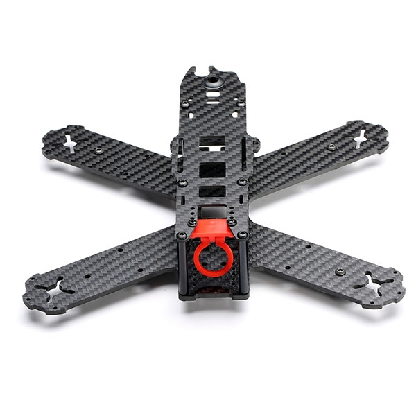 Kingkong 210 Lite 210MM Carbon Fiber FPV Racing Frame w/ 3 Universal Camera Lens Adjustable Holder
