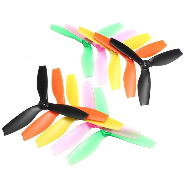 10 Pairs Racerstar R5040X3 5040 3 Blade Propeller 5.0mm Mounting Hole For 2204 2206 Motor FPV Frame