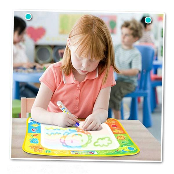 Magic Watercolor Graffiti Painting Writing Blanket Puzzle Intelligence Children Toys