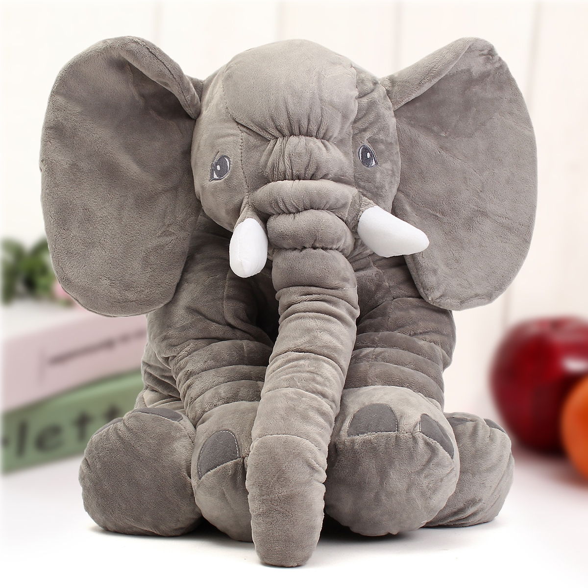 23.5 60cm Cute Jumbo Elephant Plush Doll Stuffed Animal Soft Kids Toy Gift""