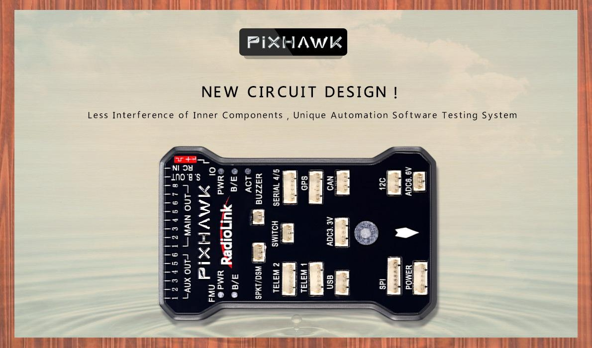 Radiolink PIXHAWK Flight Controller 32 Bit w/ Power Module for RC Racing Drone Quadcopter