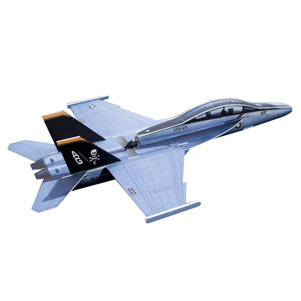 F18 PP 882mm Wingspan RC Airplane Fixed Wing KIT