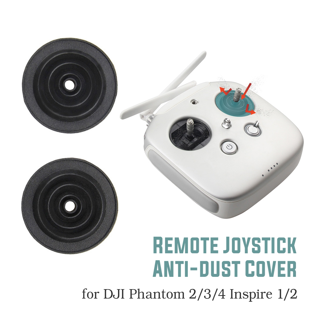 Dust-proof Remote Controller Joysticks Cover RC Quadcopter Parts For DJI Phamtom 3 4 Pro Inspire 1 2