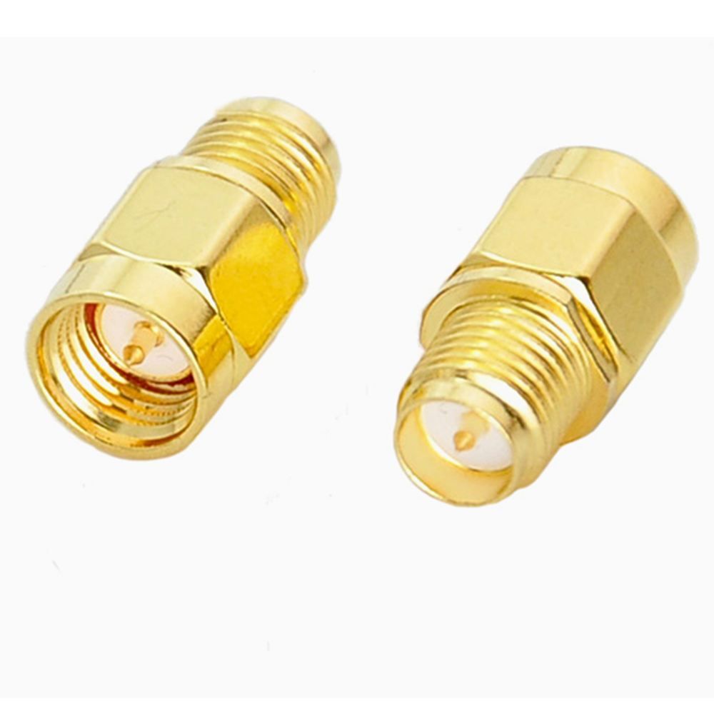 5pcs SMA Male To RP-SMA Female RF Coaxial Adapter Connector