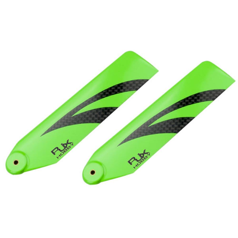1Pair RJX 110mm Carbon Fiber Tail Blade For 700 RC Helicopter