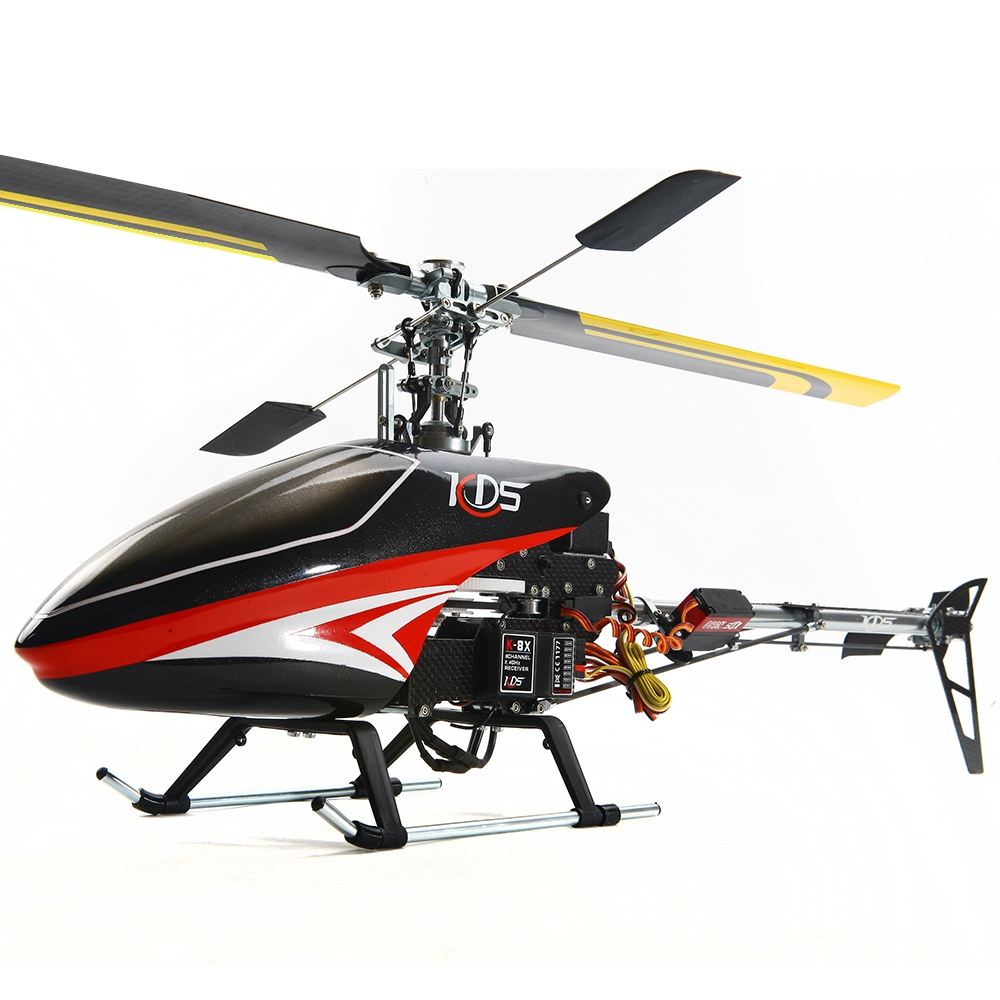 KDS 450SV FBL 6CH 3D Flying Belt Drive Alloy Version RC Helicopter DIY Kit