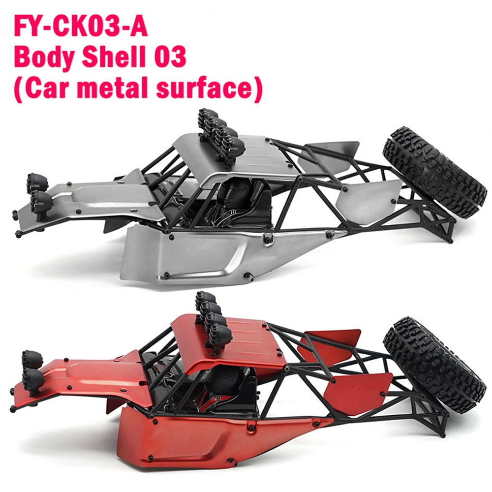 Feiyue Metal Car Body Shell for FY03 FY03H 1/12 RC Vehicles Model Spare Parts FY-CK03