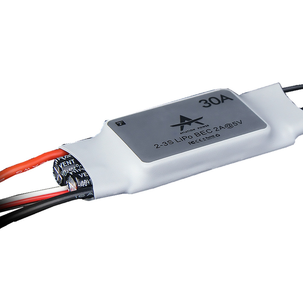 T-MOTOR AT 2~3S 30A 5V/2A Brushless ESC for RC FPV Racing Drone