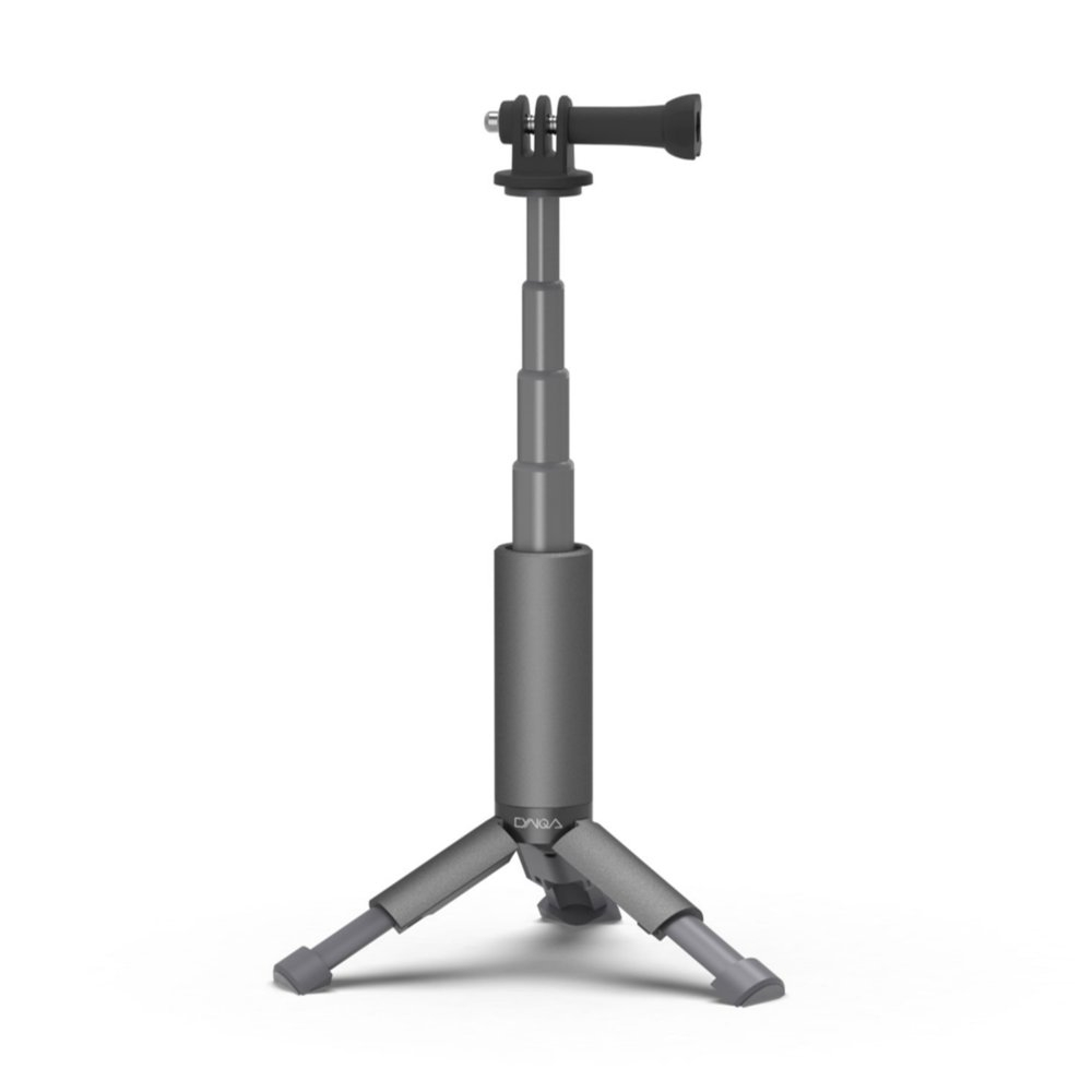 CYNOVA 13-22cm Four-section Expandable Mini Tripod For DJI OSMO ACTION FPV Camera