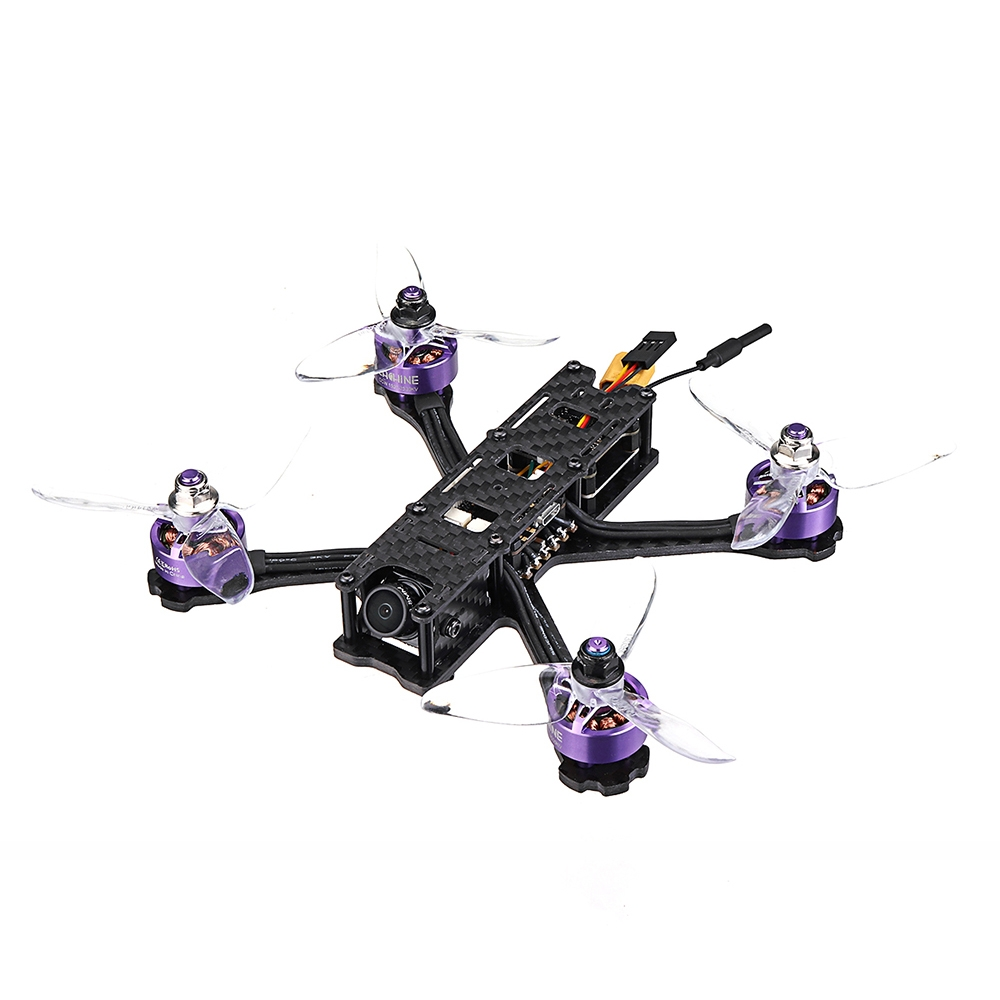 Eachine Wizard X140 140mm 3 Inch 3-4S RC FPV Racing Drone PNP Betaflight F4 OSD FOXEER Cam 25~300mW VTX