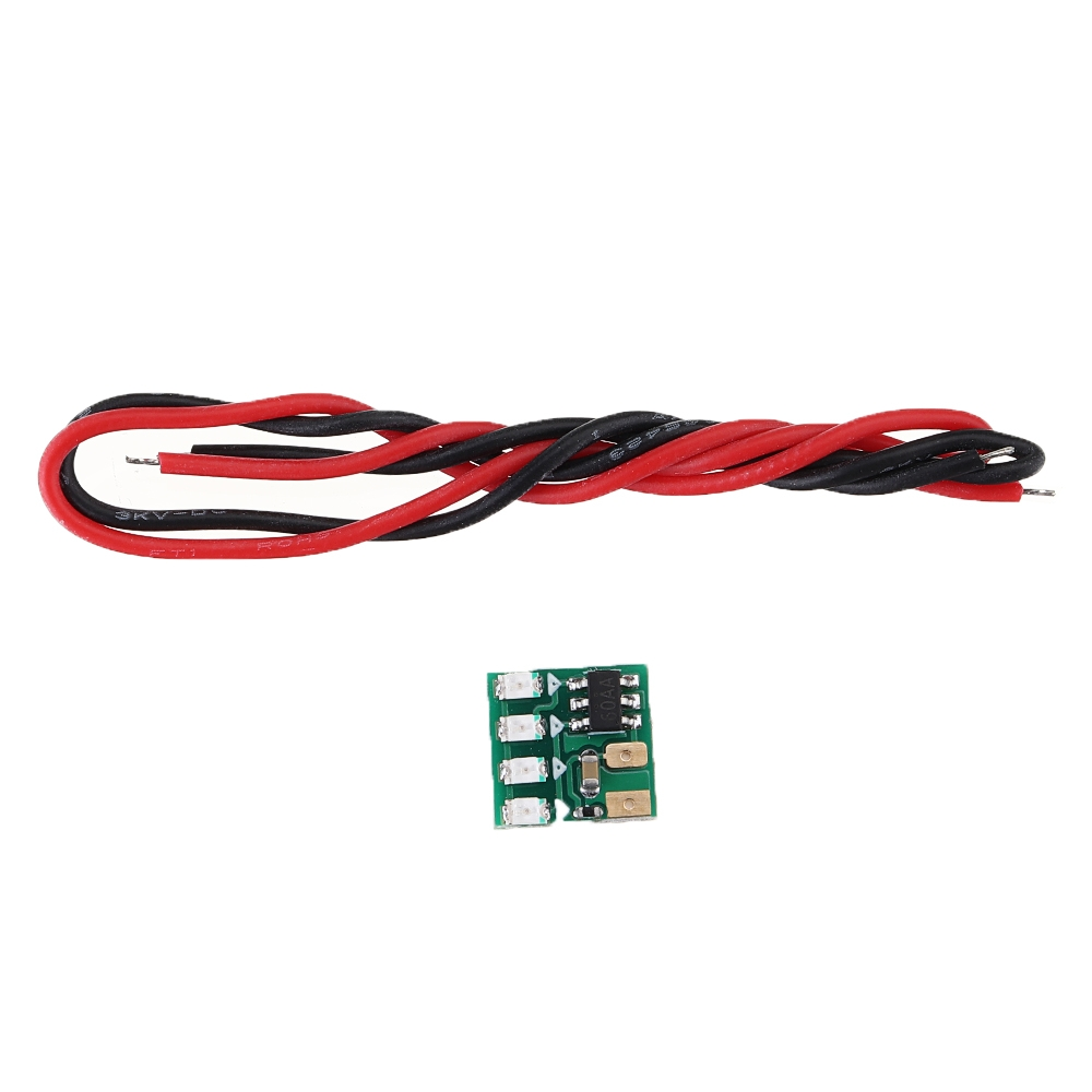 1S 3.7V Lipo Battery Level Power Display Indicator Board for RC Drone