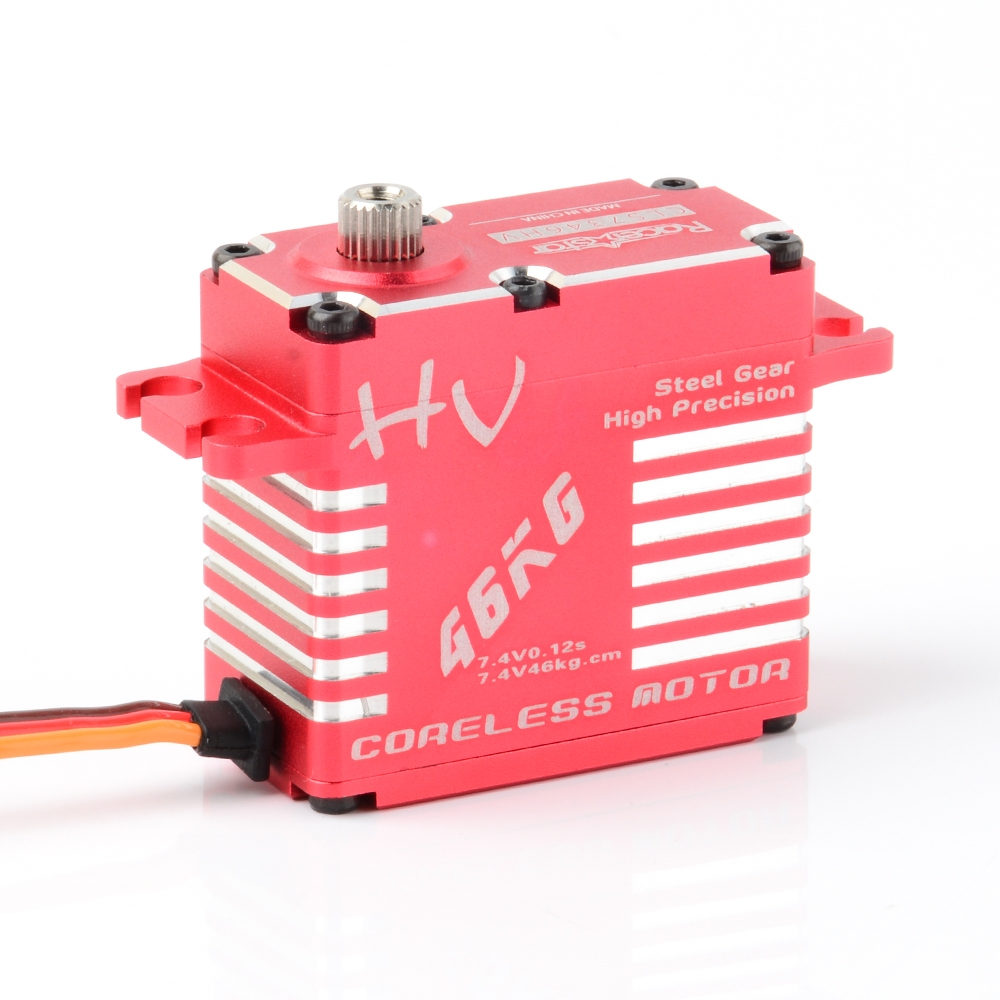 Racerstar CLS7346HV 180° 46KG Coreless Matel Gear Digital Servo For RC Airplane Car Robot