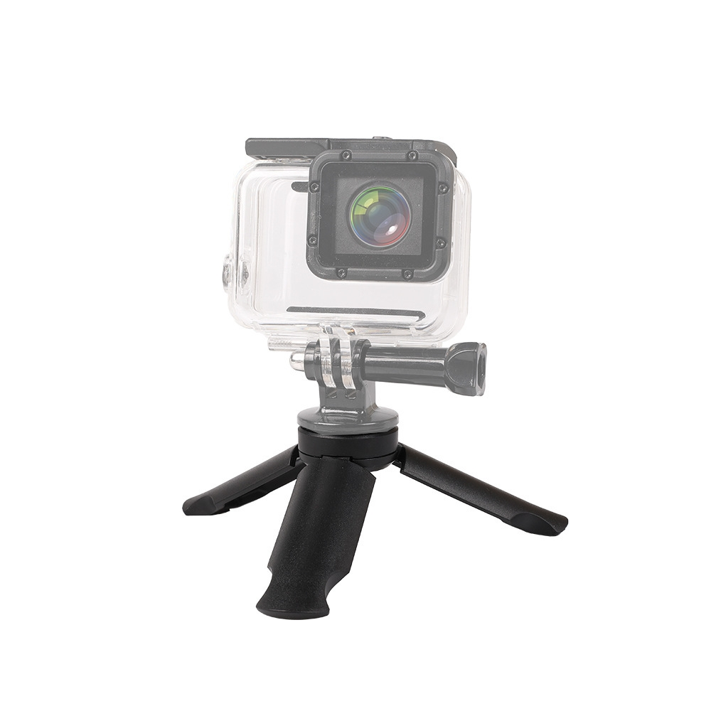 Mini Desktop Stand Mount Handle Tripod 1/4 Inch Screw Universal for Gopro Camera/Mobile Phones/Digital Cameras
