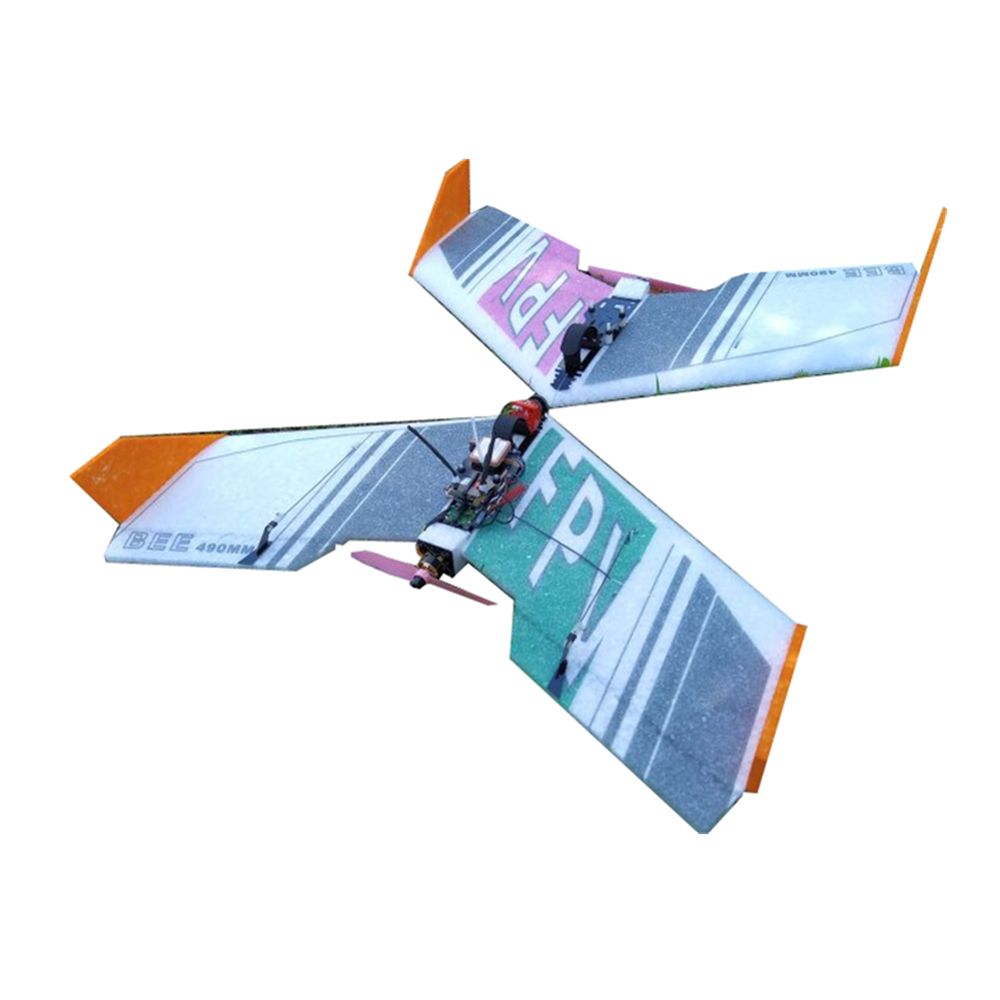 2pcs BEE 490 Wingspan EPP FPV RC Airplane Fixed Wing KIT for New Flyer Beginner Trainer