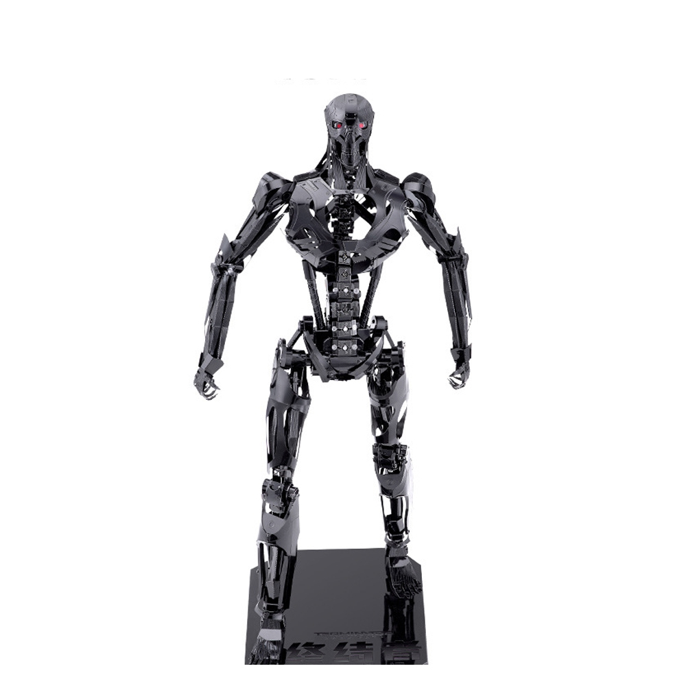 Terminator REV9 Skeleton 3D Metal Alloy DIY Assembled Model Toys