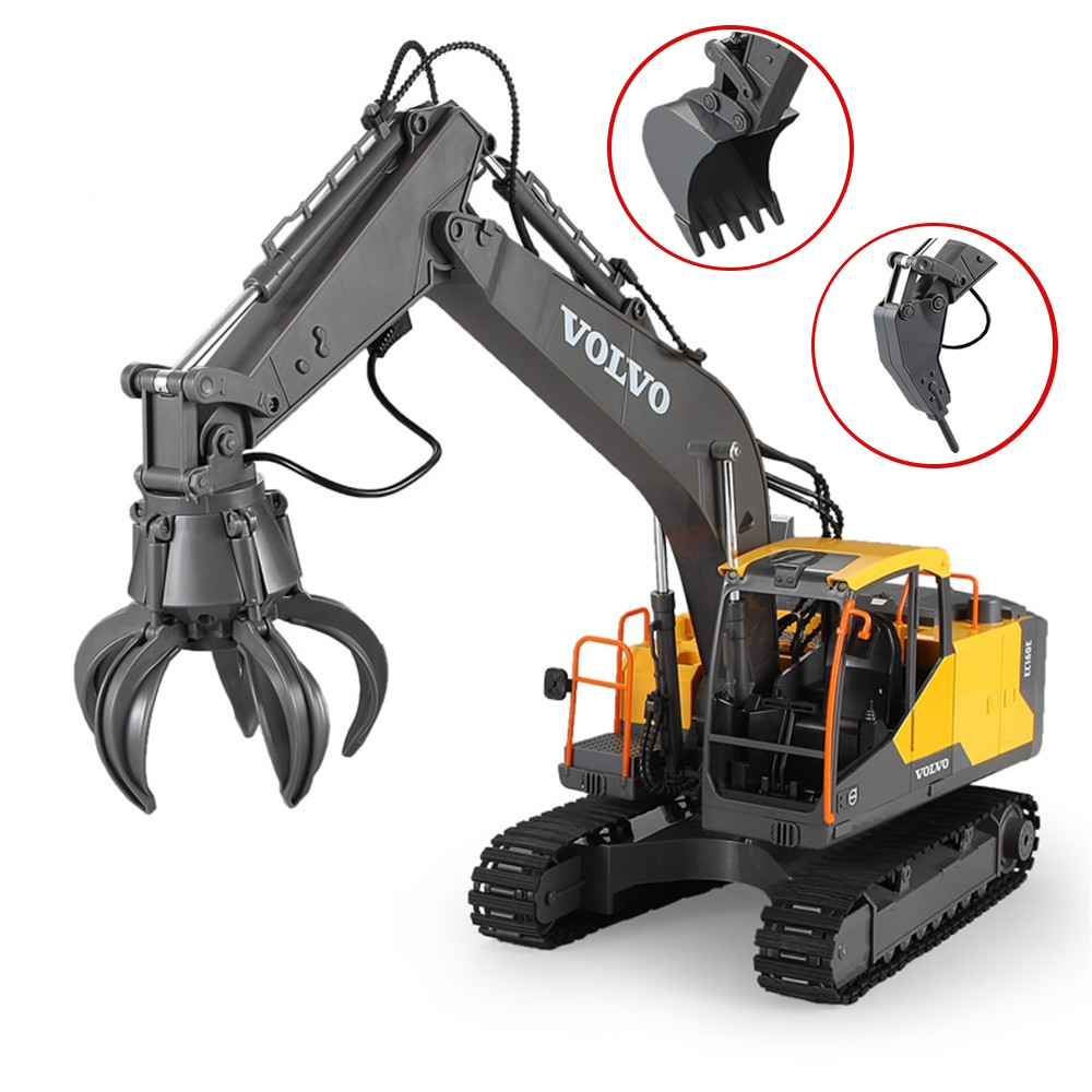 Double E E568-003 RC Excavator 3 IN 1 Vehicle Models Engineer RC Car