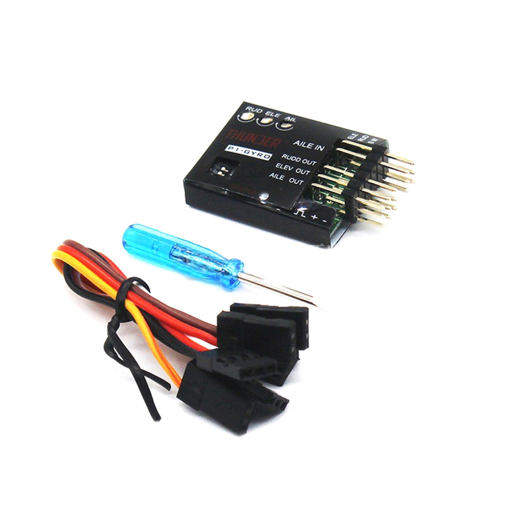 P1-GYRO 3-Axis Flight Controller Stabilizer System Gyro For Su27 For Flying Wing Fixed RC Airplane Drone Accessories