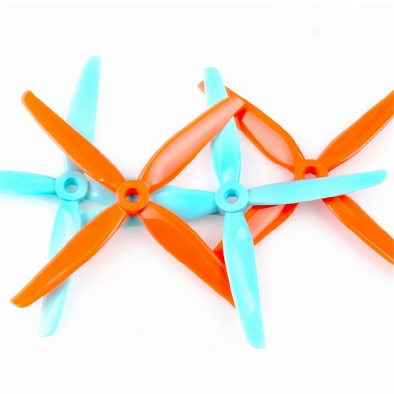 HQProp POPO Ummagawd 4Play Propeller Gulf (2CW+2CCW) 4.8Inch Poly Carbonate Prop For FPV Racing RC Drone