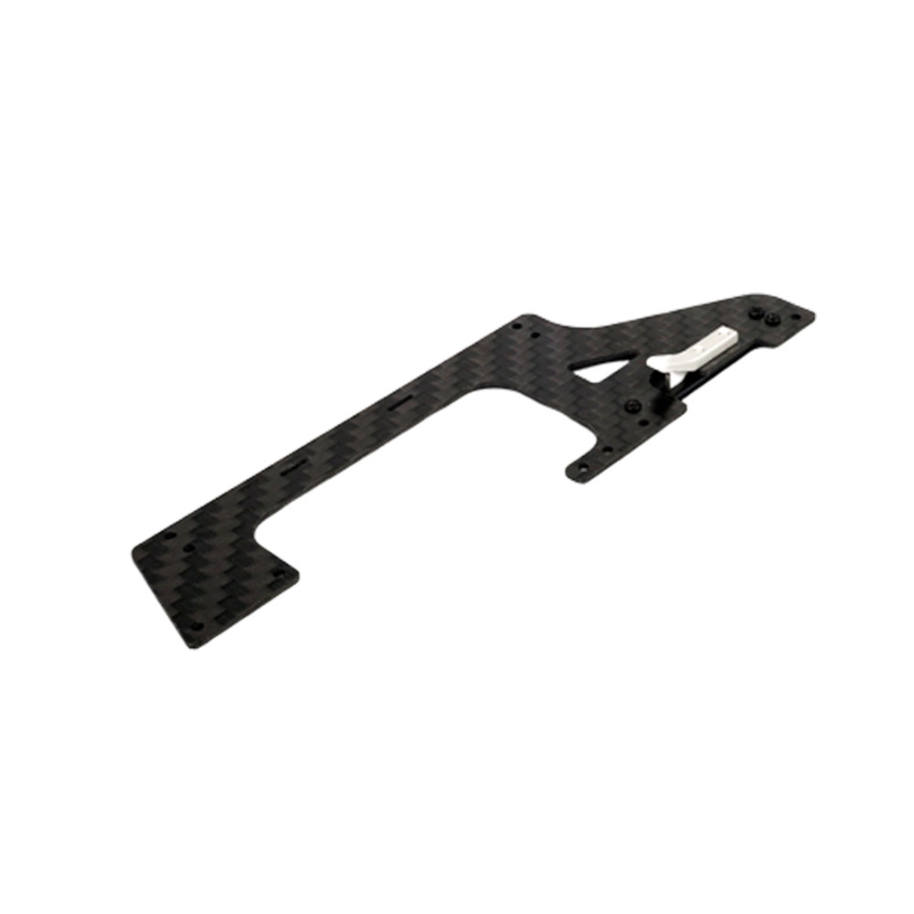 OMPHOBBY M2 RC Helicopter Parts Carbon Fiber Left-Lower Main Frame