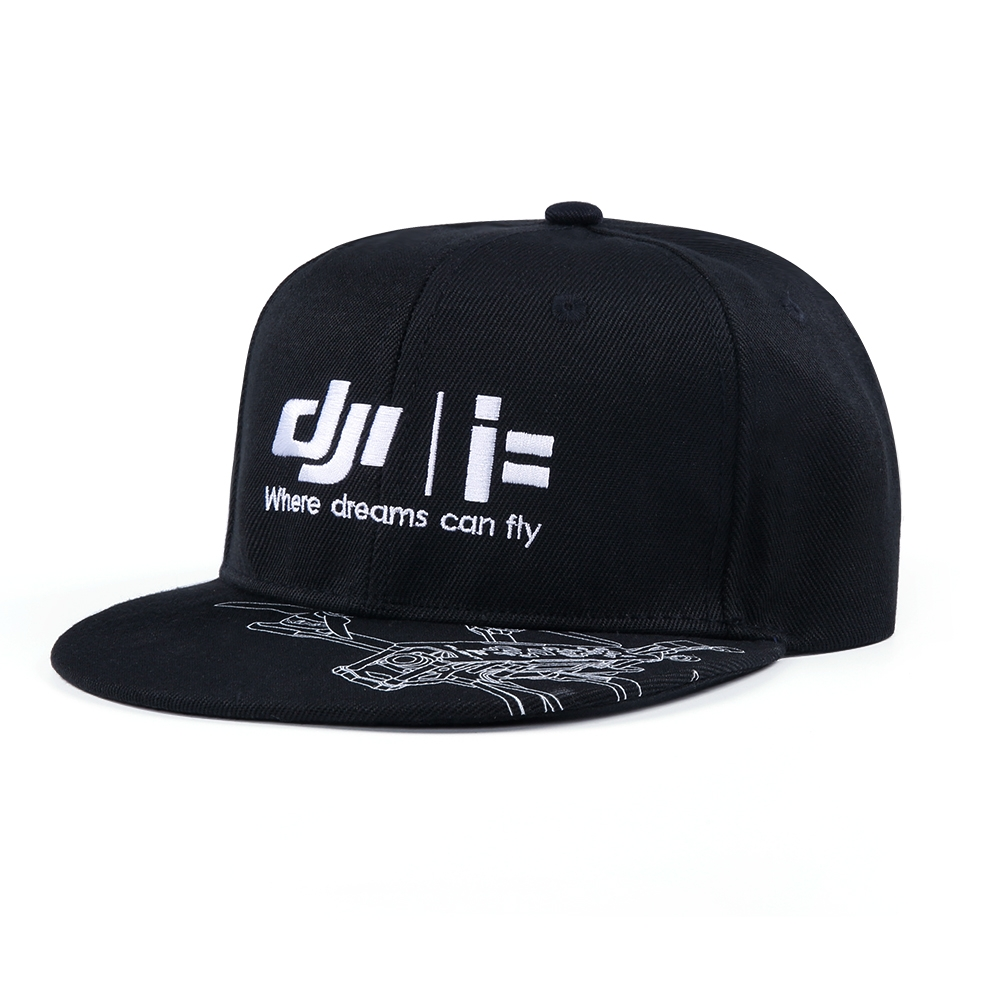 iFlight DJI Hip-hop Hat Cotton Black for RC Racing