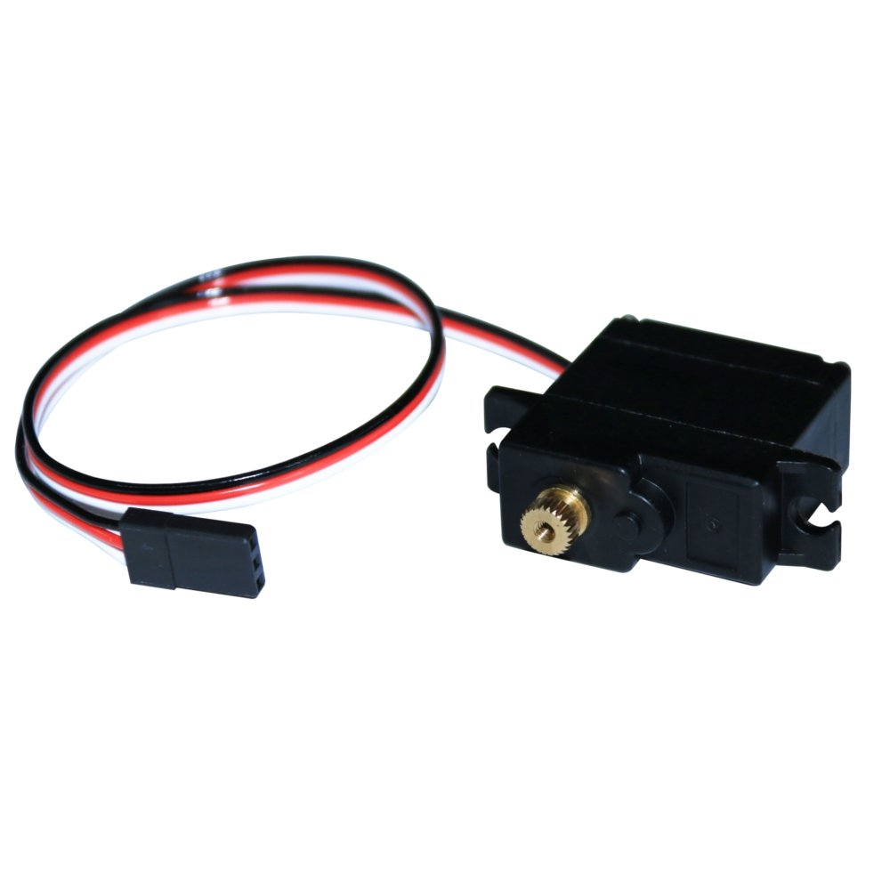 Skywalker 17g Metal Gear Micro Servo Compatible Futaba JR Plug For RC Airplane