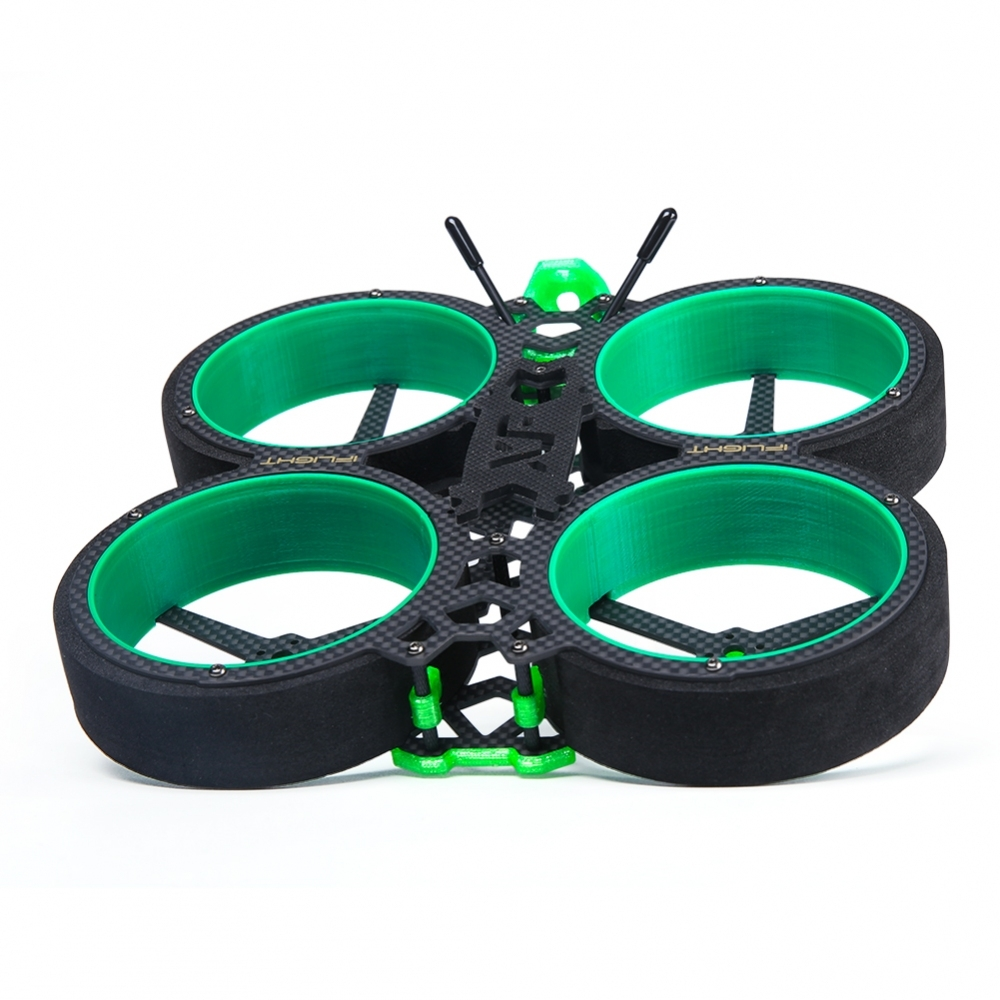 iFlight Green Hornet 3 Inch 142mm CineWhoop Frame Kit 20x20mm / 30.5x30.5mm Hole Install