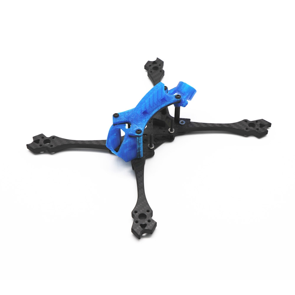 HSKRC Solo215 215mm / 230mm Wheelbase 6mm Arm Carbon Fiber 5 Inch Frame Kit for RC Drone