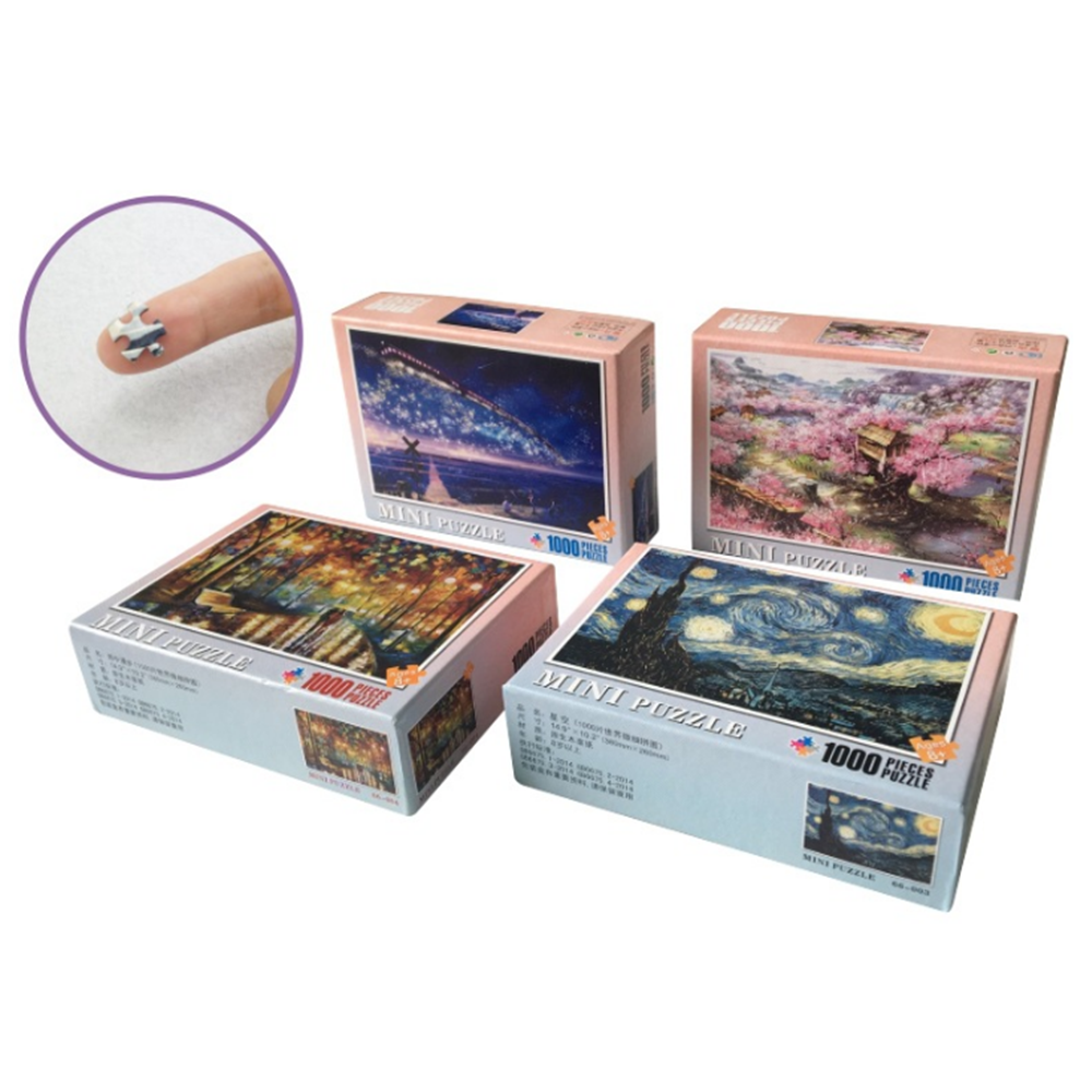1000 Pieces Of Puzzle Decompression Scenery Series Jigsaw Puzzle Toy