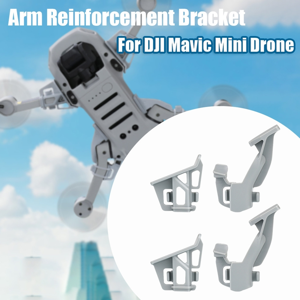 RCSTQ Arms Reinforcement Fixed Bracket Mount Holder Kit Protector for DJI Mavic Mini RC Drone