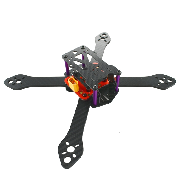 Realacc Martian III X Structure 3.5mm Arm 190mm 220mm 250mm Carbon Fiber Frame Kit with PDB