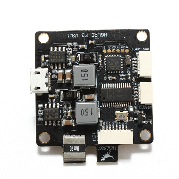 New Racing F3 V3 6Dof  Flight Control AIO Intergrated with OSD BEC PDB and Current Sensor
