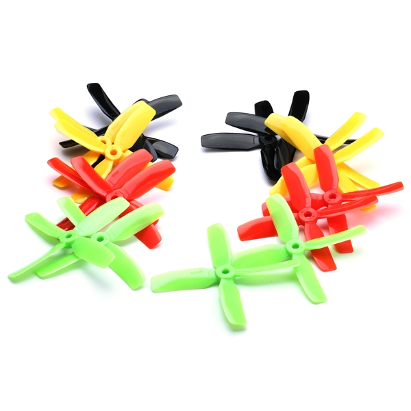 8 Pairs Kingkong 4x4x4 4040 4-Blade Propeller CW CCW for FPV Racer