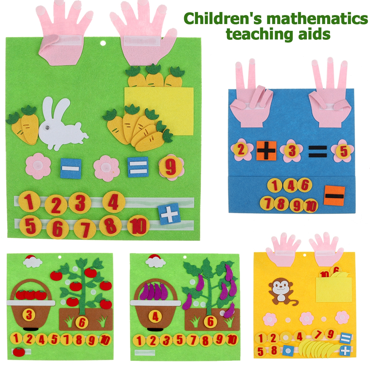 Multi-type Children's Mathematics Teaching Aids Early Education Intellectual Development Toys