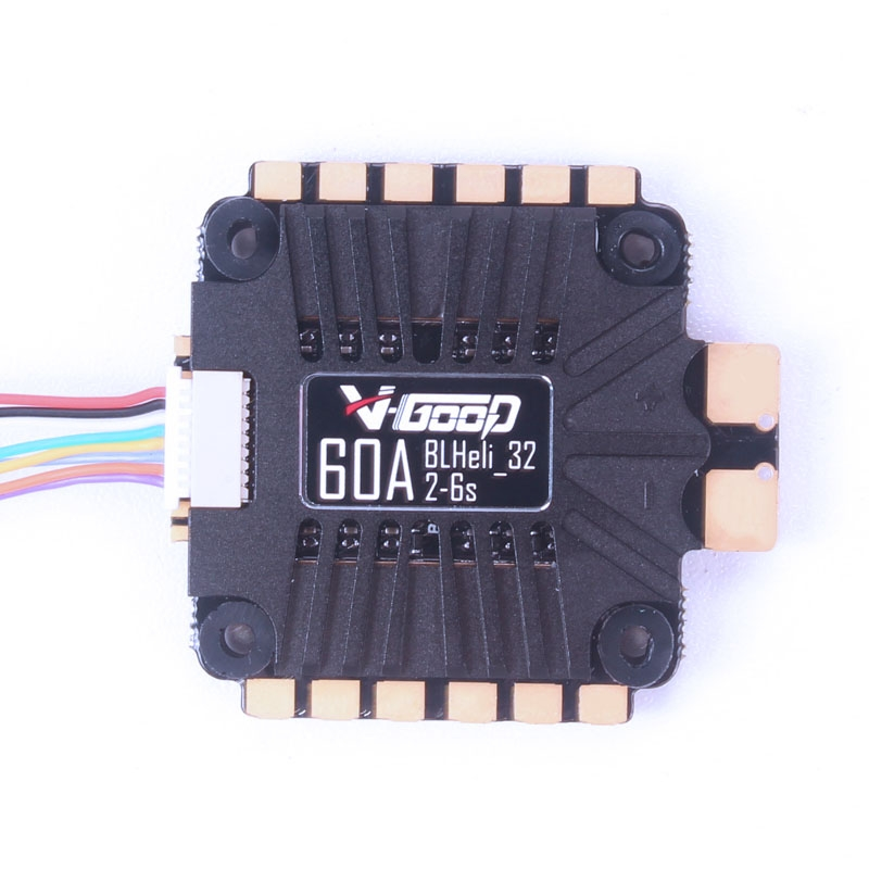 V-GOOD 60A Blheli_32 3-6S 4 IN 1 Brushless ESC w/ Current Sensor support Telemetry for RC FPV Racing Drone
