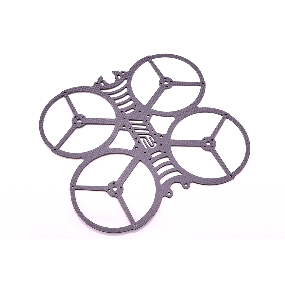 AlfaRC F2 Cineboy Frame Part Carbon Fiber 2mm Bottom Plate for 146mm Wheelbase 3 Inch Cinewhoop Whoop FPV Racing Drone