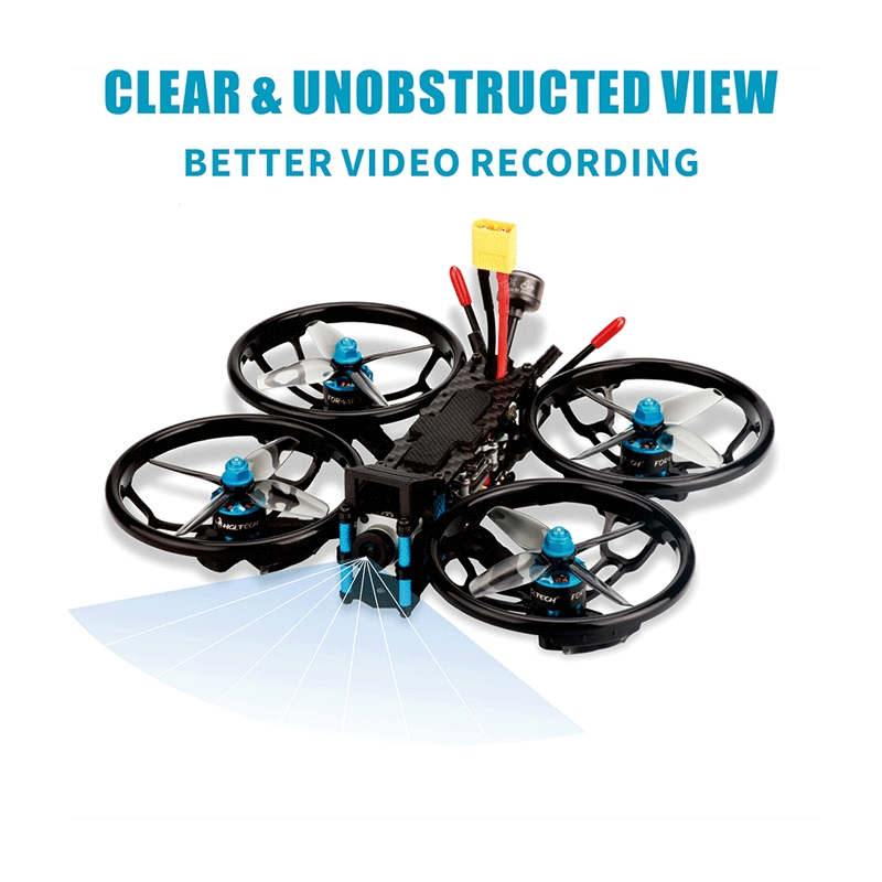 HGLRC Sector150 HD 150mm F4 Zeus35 AIO 35A BL_S ESC 4S 3 Inch Freestyle Cinematic FPV Racing Drone PNP BNF w/ Caddx Vista HD Digital System