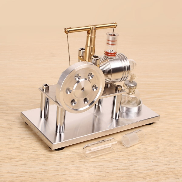 Balance Stirling Engine Model External Combustion Engine