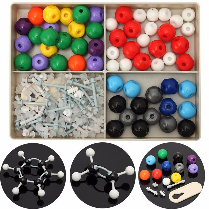 240Pcs Atom Molecular Models Kit Set General & Organic Chemistry Scientific