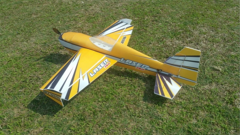 Skywing PP LASER 260 PP-LASER260 15E 965mm Wingspan 3D Aerobatic RC Airplane KIT