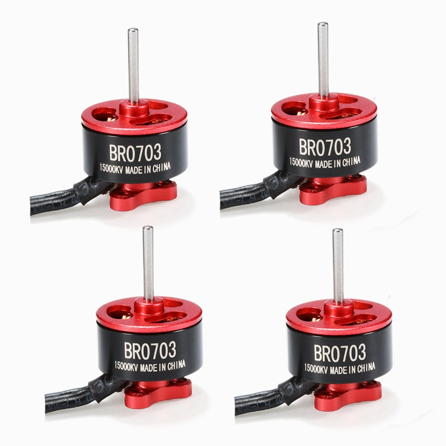 4X Racerstar Racing Edition 0703 BR0703 15000KV 1-2S Brushless Motor For 60 80 100 FPV Racer 1.9g